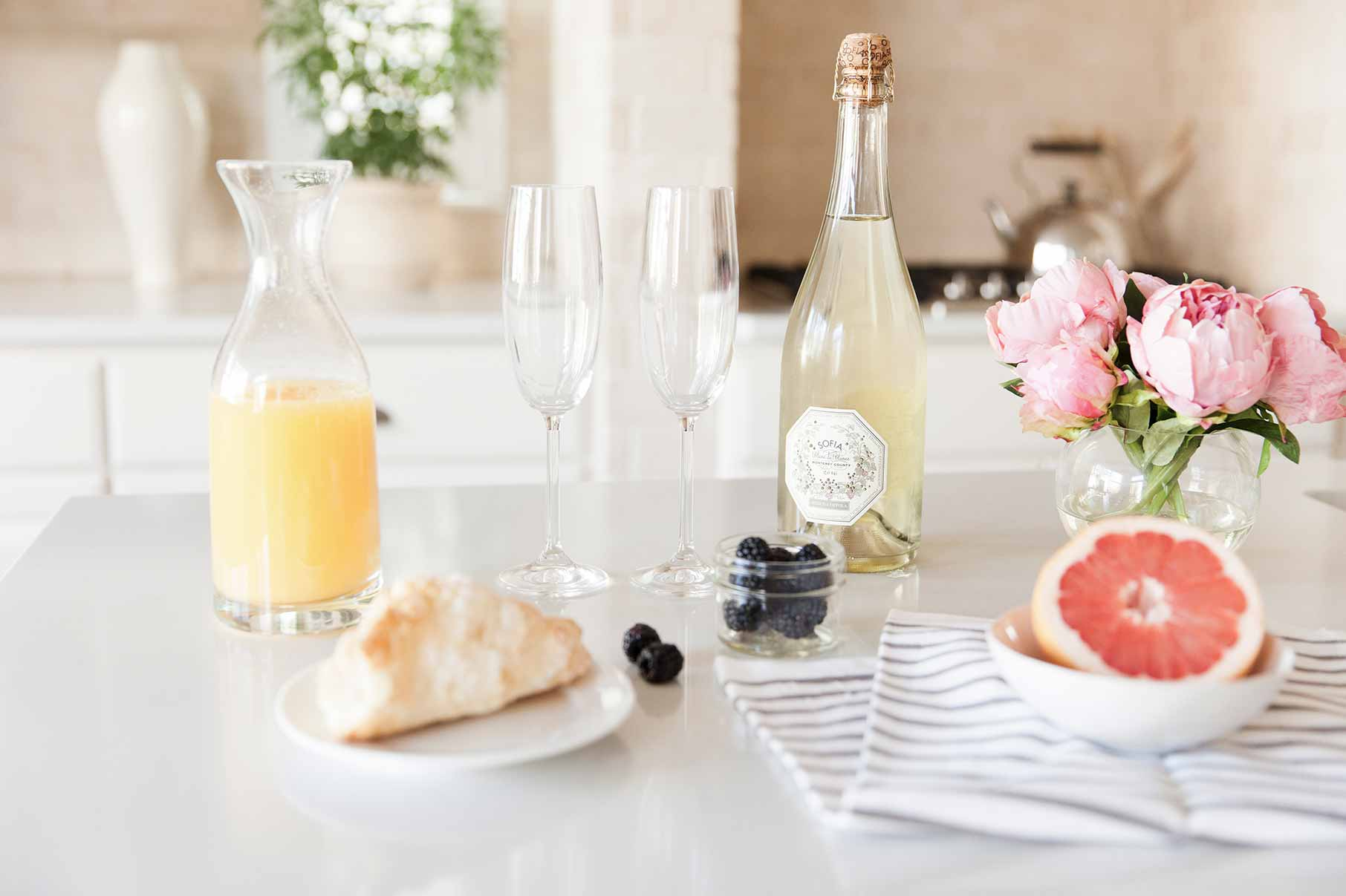feest, nieuw begin, opening, champagneontbijt