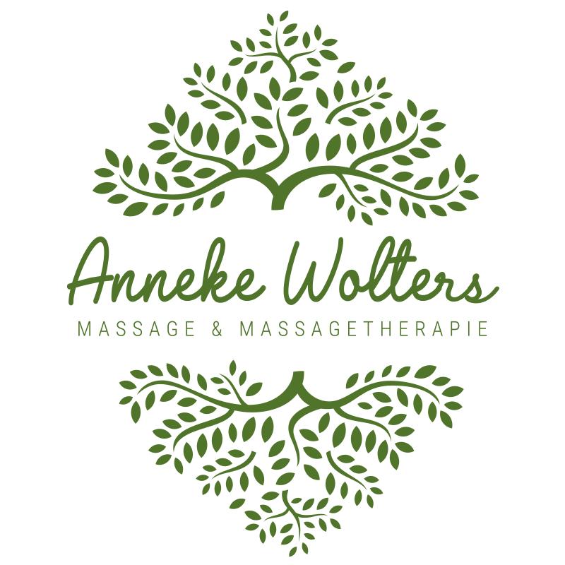 Logo van de Re-Branding voor Massage Therapeut Anneke